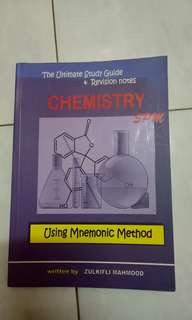 SPM Chemistry reference book