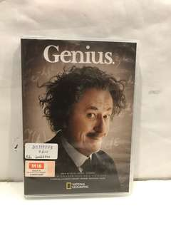 GENIUS: ALBERT EINSTEIN DVD ( 4 discs set)