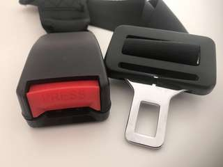 Car seat belt extension