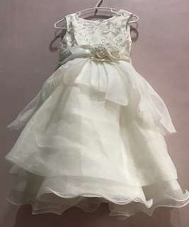 flower girl gown for 2-3yrsold