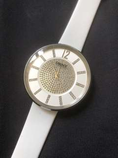 DKNY ladies bling bling quartz watch