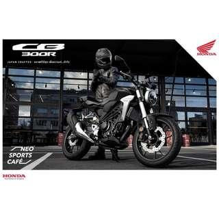 Ready Stock!! Honda CB300R