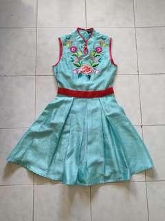 Solemio qipao dress