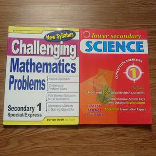 Secondary One Assessment Books