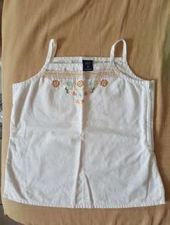 GAP Kids Embroidery Top