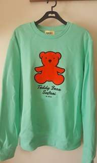 Sweater teddy bear jeju