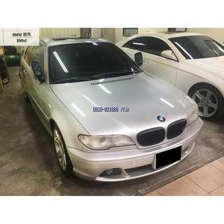 2005 BMW 330ci 3.0L 時尚銀色 雙門跑車