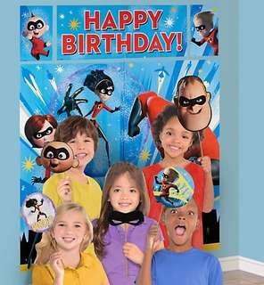 🚚 (Pre-Order)  Licensed Incredibles 2 Birthday Party Decoration Kits