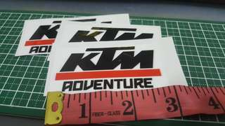 Ktm adventure sticker