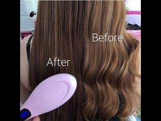 MAGIC HAIR BRUSH ELECTRIC COMB HAIR STRAIGHTENER