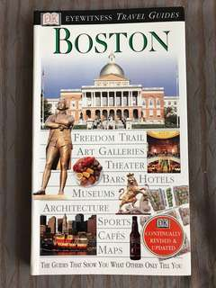 DK Eyewitness Travel Guides : Boston