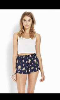Authentic f21 floral shorts