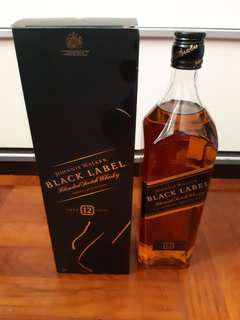 1L Johnnie Walker Black Label