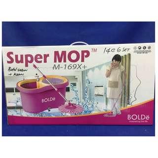 Supermop BOLDe M169x Plus Pembersih Lantai Praktis Di Rumah Mudah Di Gunakan