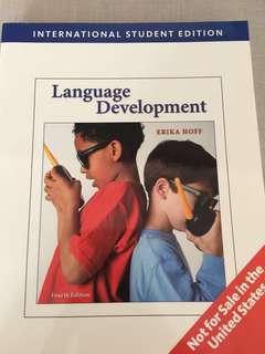 [Linguistics Textbook] Language Development by Erika Hoff