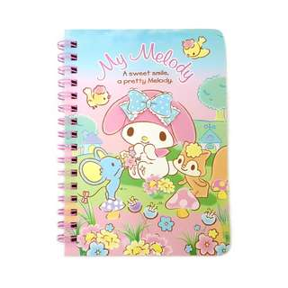Sanrio My Melody 港版A6筆記簿 40頁 (包平郵或郵局自取)