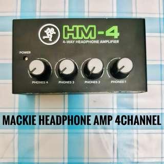 Mackie HM4 Headphone Amp 4 channels