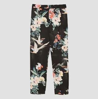 Zara Printed Pants (used once)