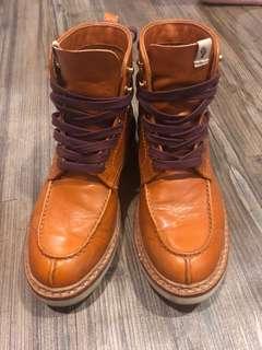 「二手」VisVim手工靴子 Timberland款式 24.5cm