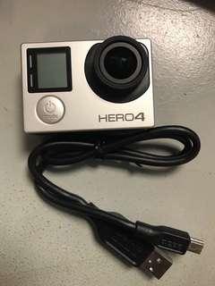 Faulty GoPro Hero 4 Silver (rosak masuk air)