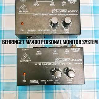 Behringer MA400 Personal Monitoring System
