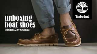 Timberland 3 Eye Boat Shoes