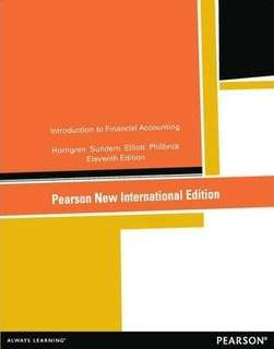 Introduction to Financial Accounting - Pearson 11th edition