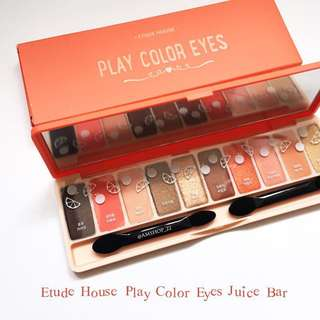 Juice Bar Play Colour Eyeshadow Palette