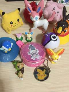 pokemon toy collection bundle with free