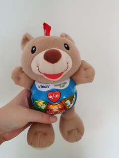 Baby Toy brown bear musical vtech