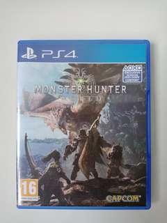 Monster hunter world (Ps4 Game)