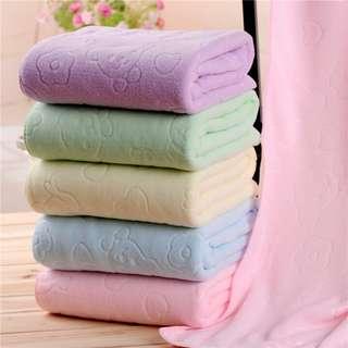 Obral murah handuk mandi cotton import