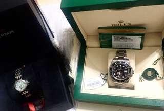 勞力士潛航者型系列116610LN-97200黑盤腕錶(黑水鬼)