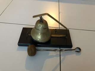 Old antique bell