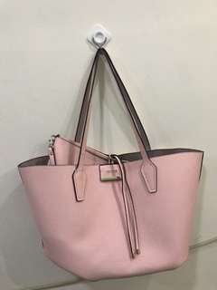 Guess pink shoulder bag (total 2 bags)