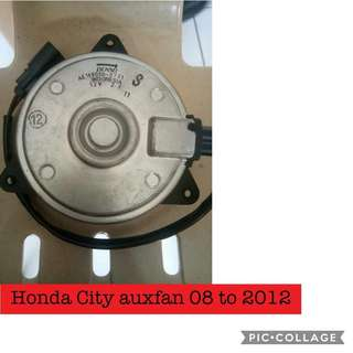 Honda city auxfan motor 2010 up