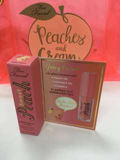 Too Faced Sweet Peach Lip Gloss (Mini)