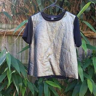 Metallic Front t-shirt