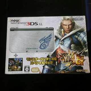 New Nintendo 3DS LL Monster Hunter G Edition