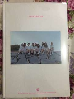 Twice one in a million photobook