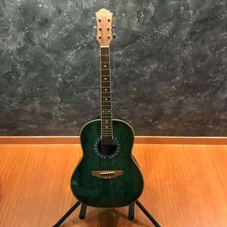 🚚 Stony HRB50 Green Acoustic Guitar