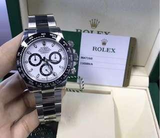 勞力士宇宙計型迪通拿系列116500LN-785900白盤腕錶
