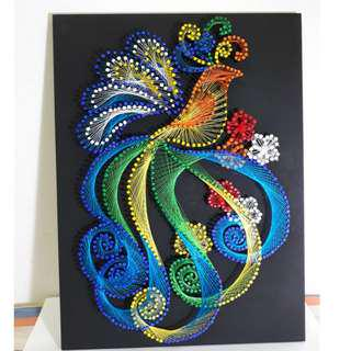 String Art Bird Hand Craft