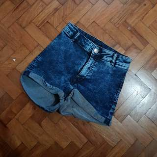 Preloved Highwaist Denim Shorts