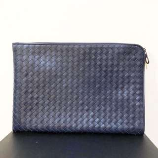 Authentic preloved bottega veneta document case