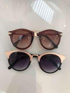 2 sunglasses cute bulk bundle