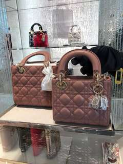 Dior 2018新色💕豆沙玫瑰色lady dior 仍未公開發售 搶先預訂中