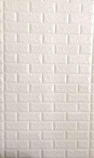 3D brick wall paper