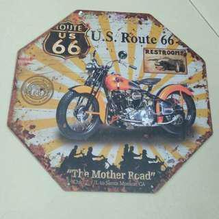 Harley Davidson wall deco