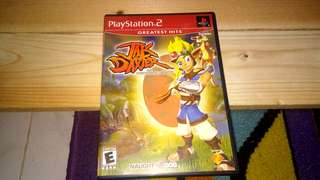 PS2 Jak and Daxter : The Precursor Legacy